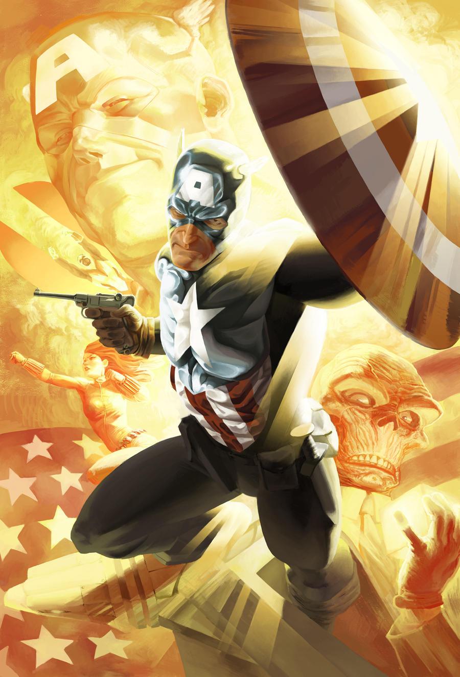 SSC - bucky captain america