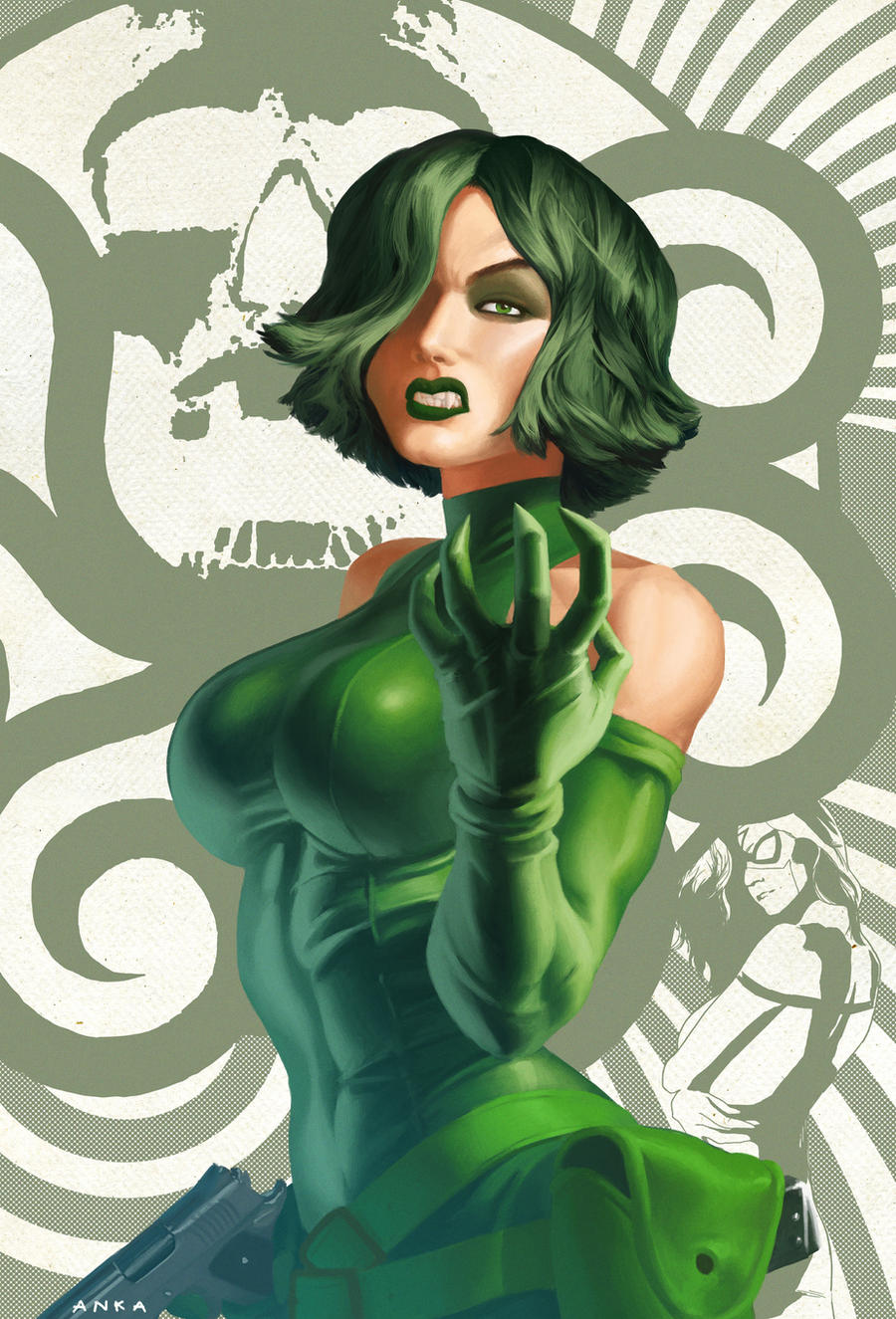 SSC - madam hydra by anklesnsocks