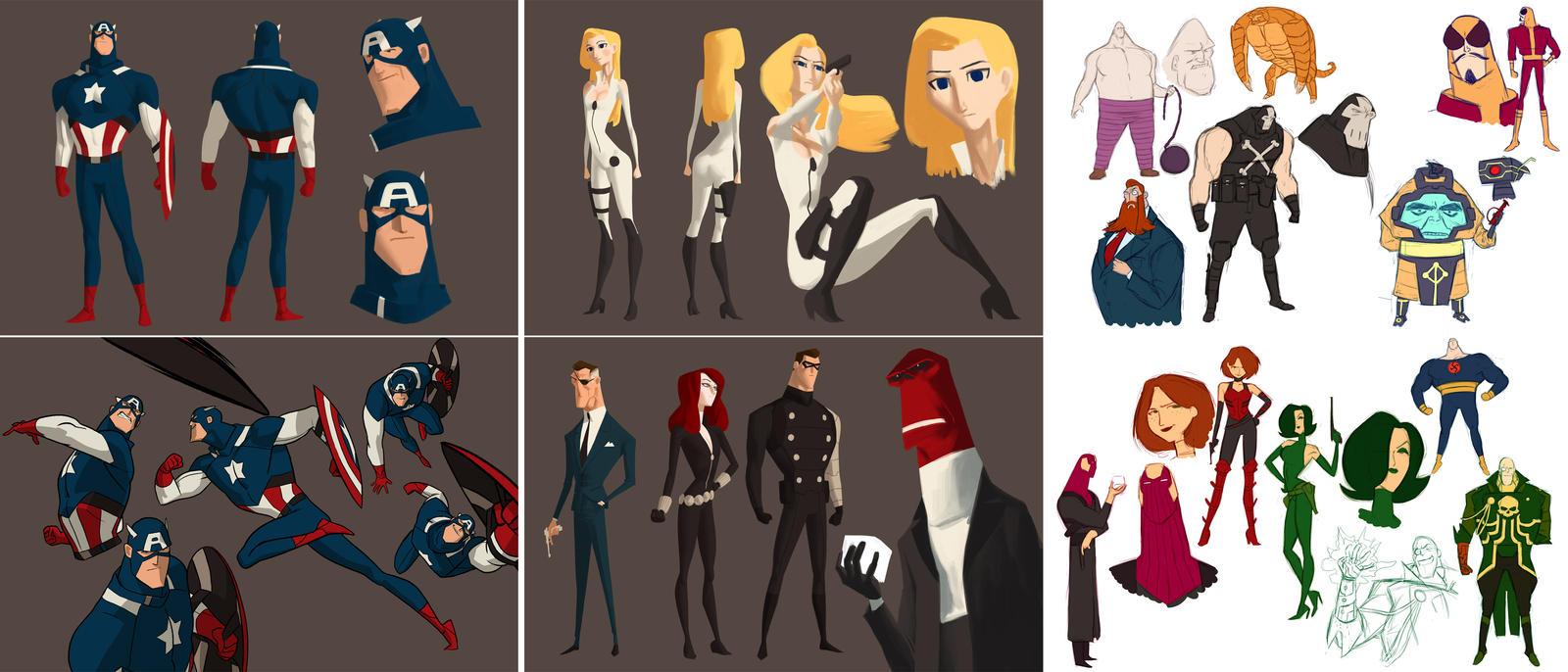 Captain America - Animated