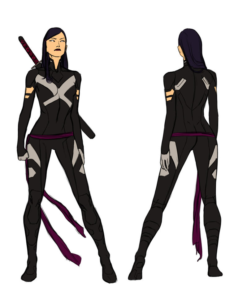 Uncanny X-force Vol. 2 - Psylocke by anklesnsocks