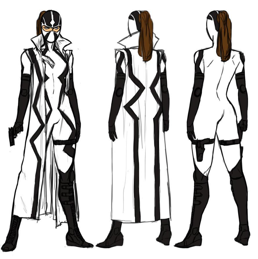 Uncanny X-force Vol 2 Lady Fantomex by anklesnsocks