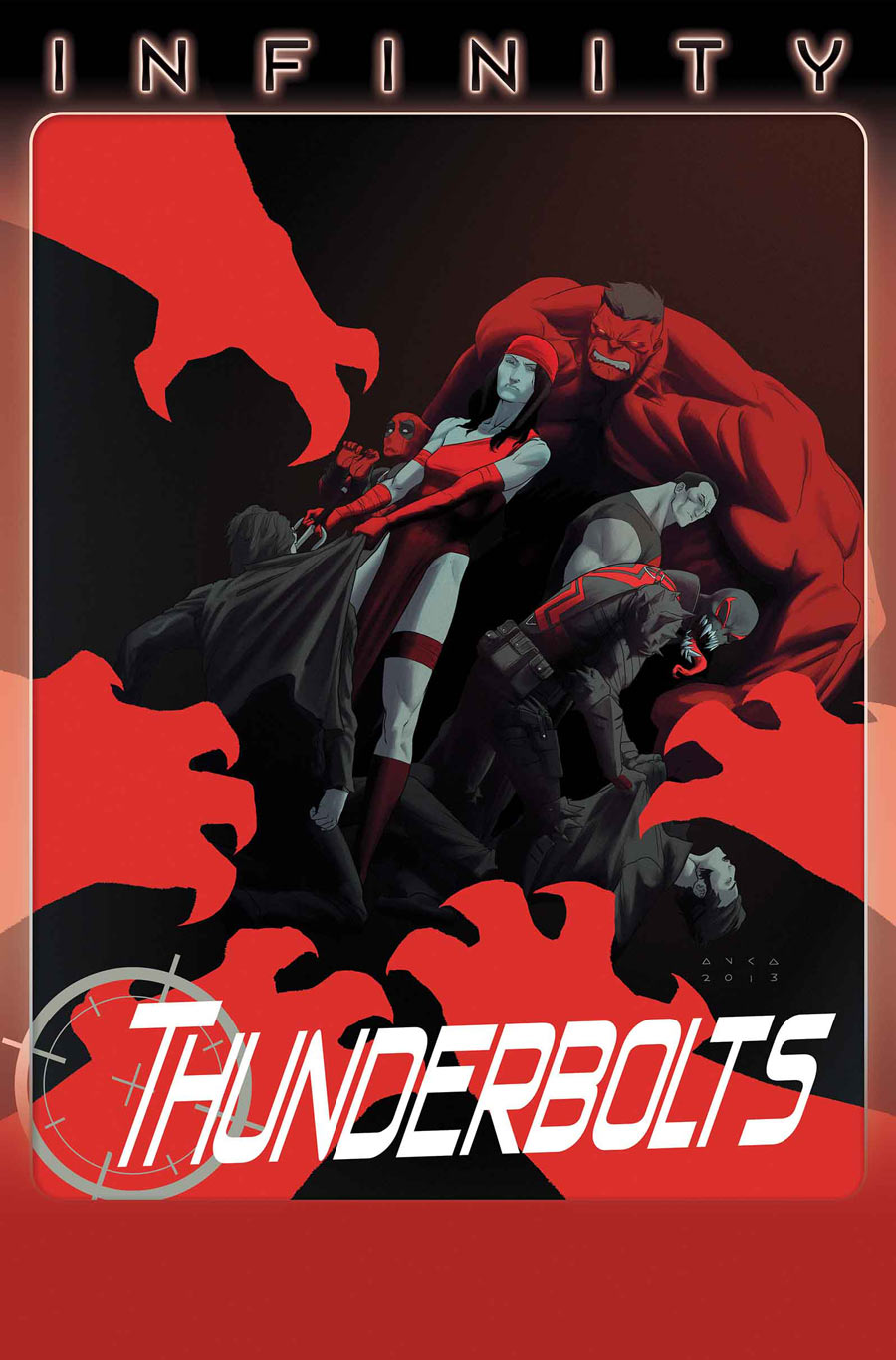 Thunderbolts #15 cover