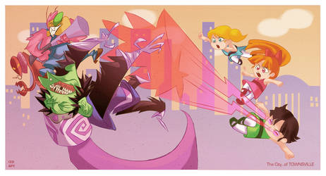 THE CITY OF TOWNSVILLE by anklesnsocks