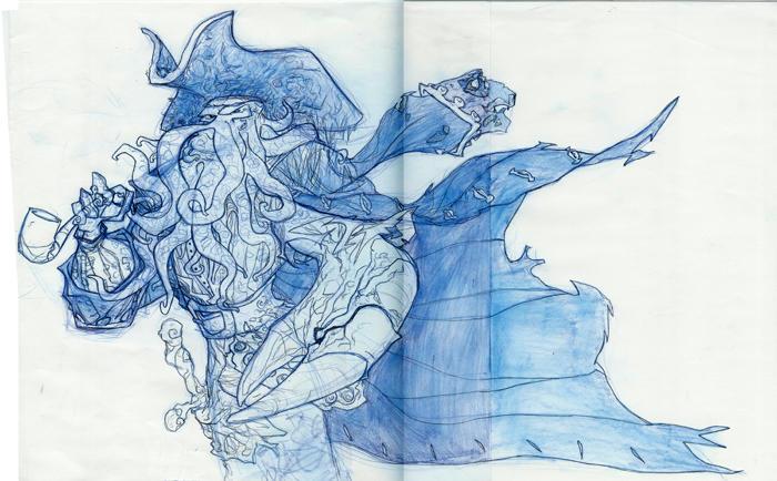 Davy Jones by anklesnsocks