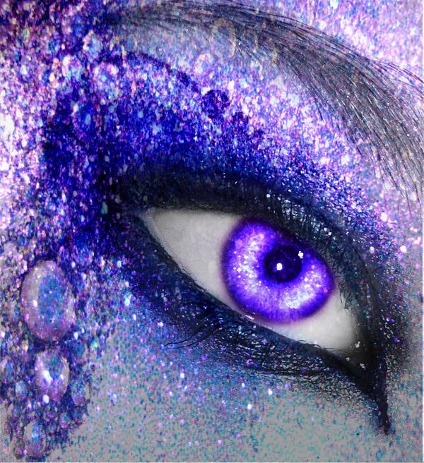 Purple Mystique by Pi-e-Lady