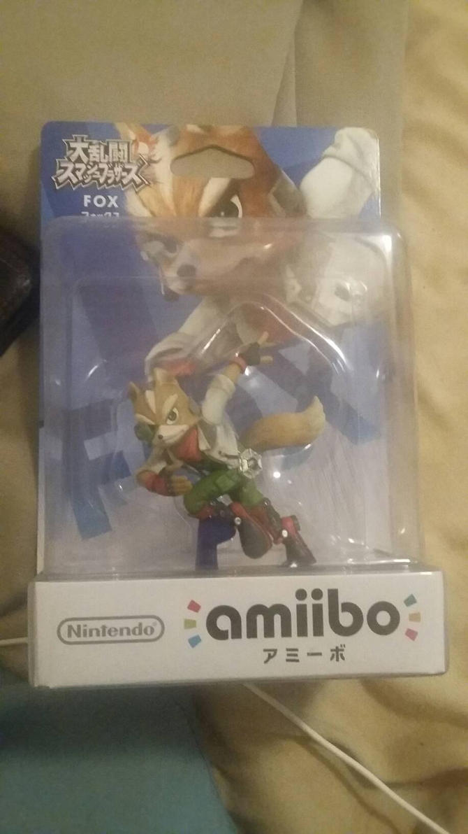 Fox Amiibo import by Benjamillion