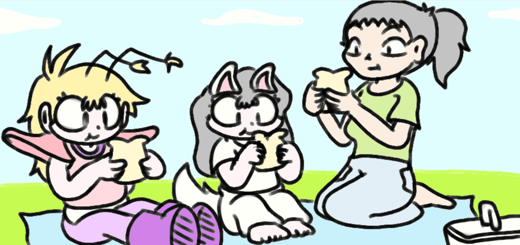 Just your average picnic by Benjamillion