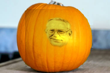 Pumpkin Politician by thaman15