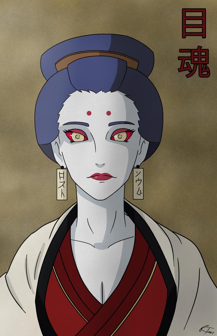 Naruto OC: Mei Tamashi by RYANBOIRDRLAWDS