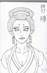 Mei Tamashi Original Sketch. by RYANBOIRDRLAWDS