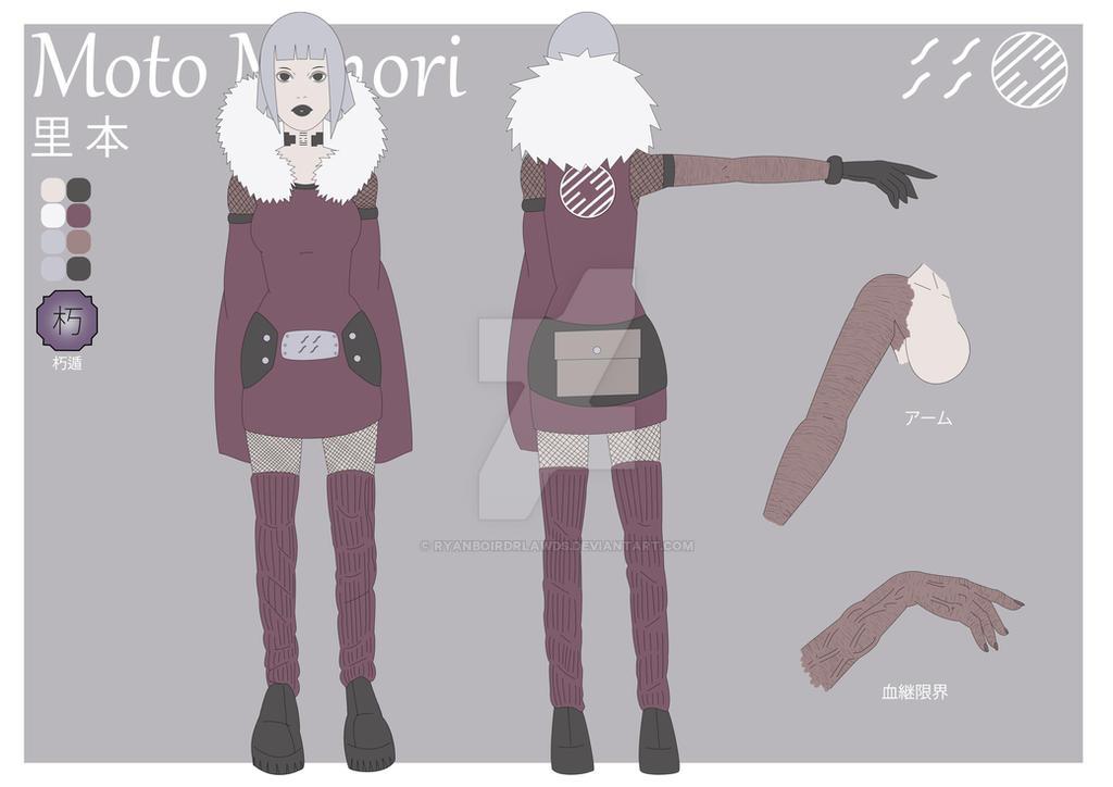 Moto Minori (Flat Character Sheet) by RYANBOIRDRLAWDS