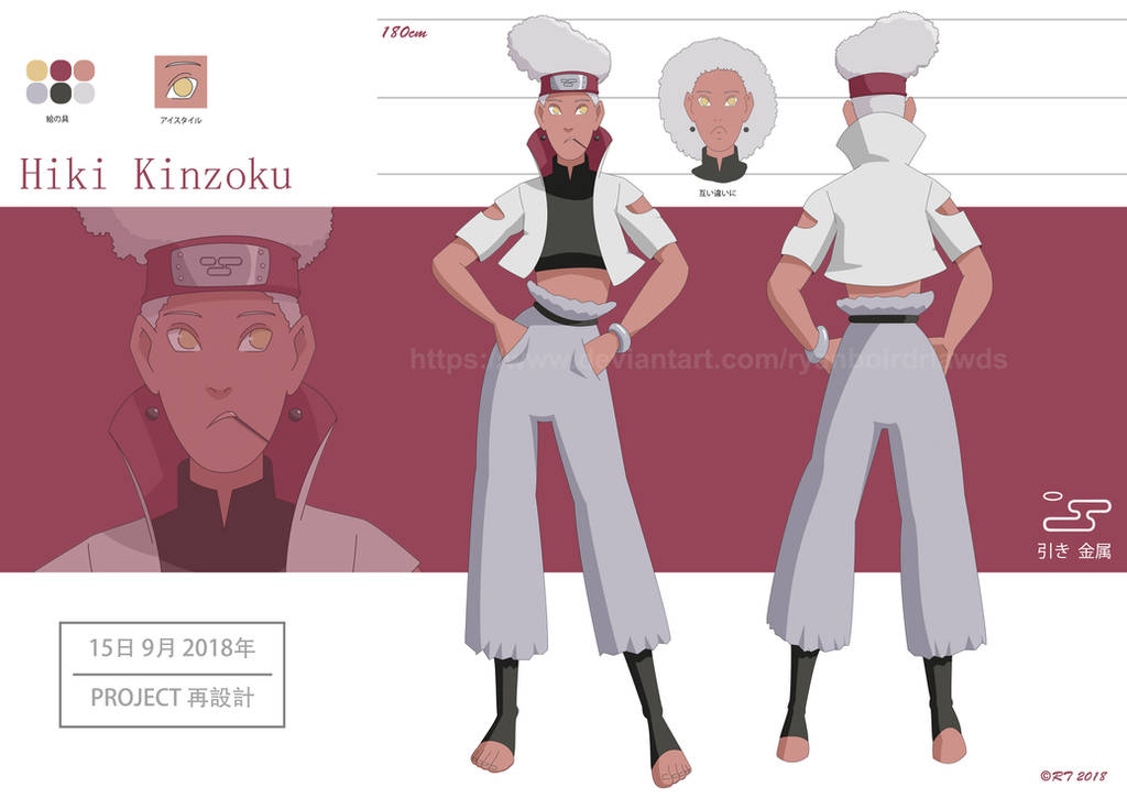 Naruto OC: Hiki Kinzoku by RYANBOIRDRLAWDS