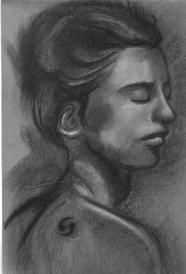 Charcoal Drawing by ViciouzCriss10