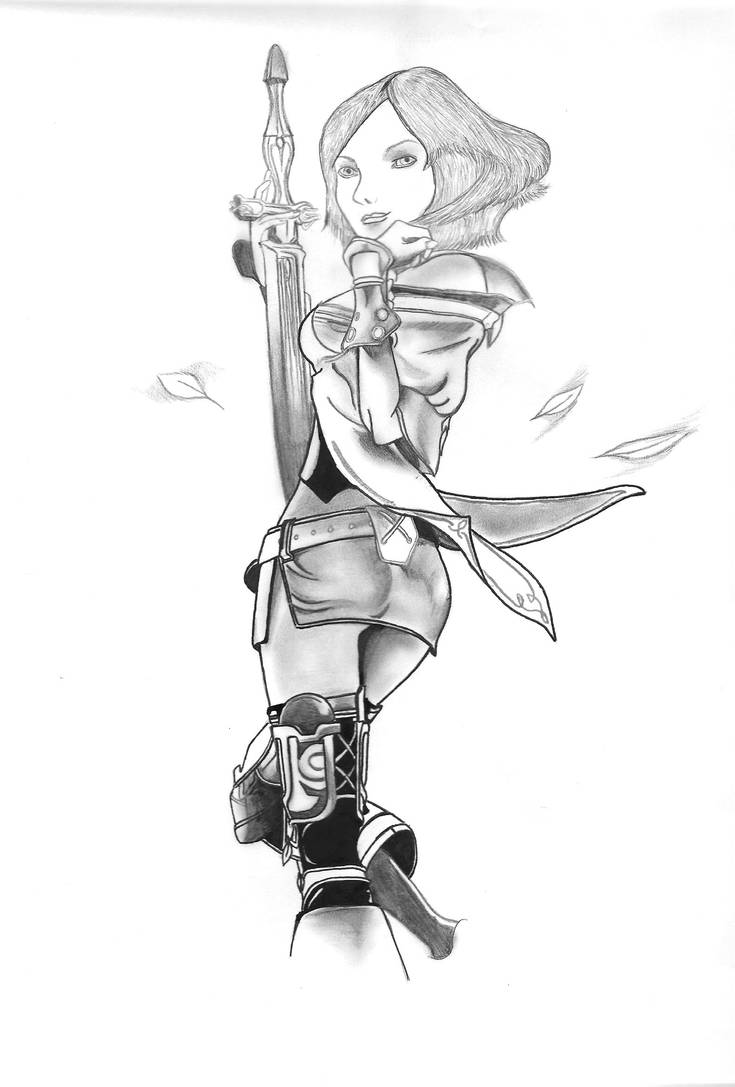 Lady Ashe by ViciouzCriss10