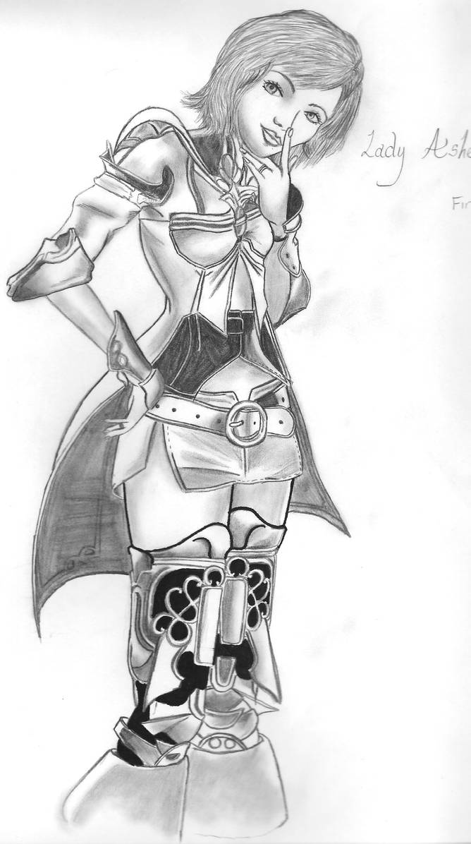 Thinking Lady Ashe by ViciouzCriss10