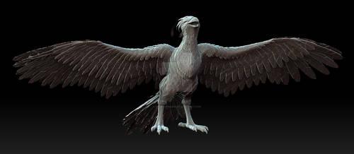 Mythical Sacred Firebird