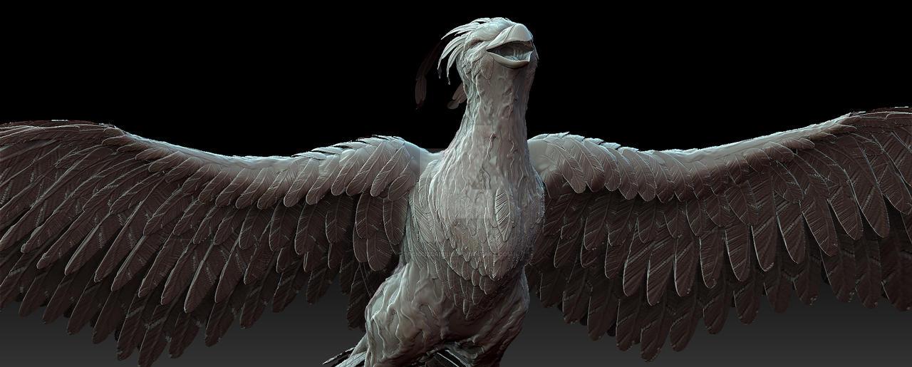 Mythical Sacred Firebird 2 by ViciouzCriss10