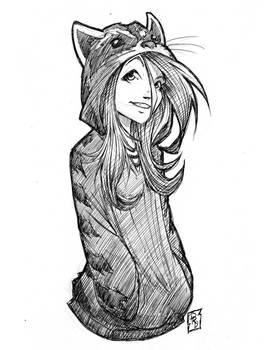 Raccoon Girl