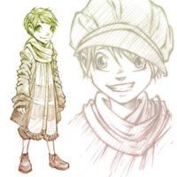 Celia Concept Sketch
