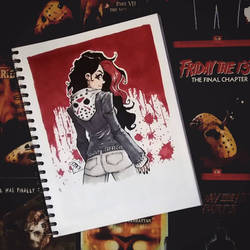 The Girl in the Jason Hoodie