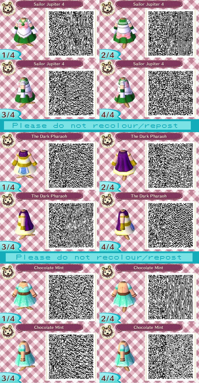 ACNL QR codes by Rebecca-47