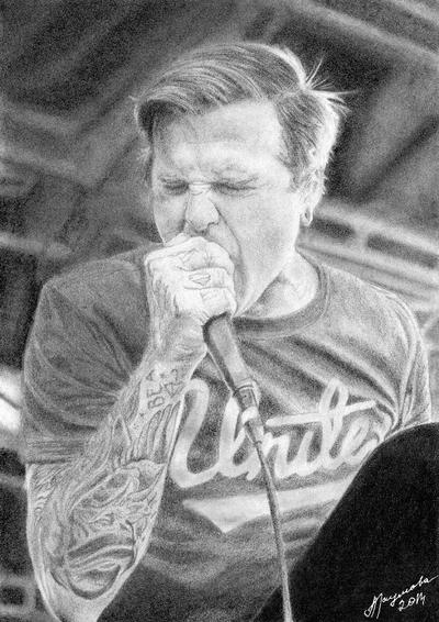 Joel Birch The Amity Affliction By Anaumova
