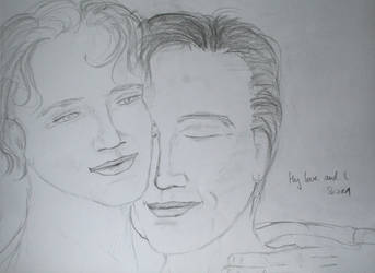 My love and I sketch 1 by 2woelfe