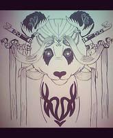 panda geisha by NatkaCH