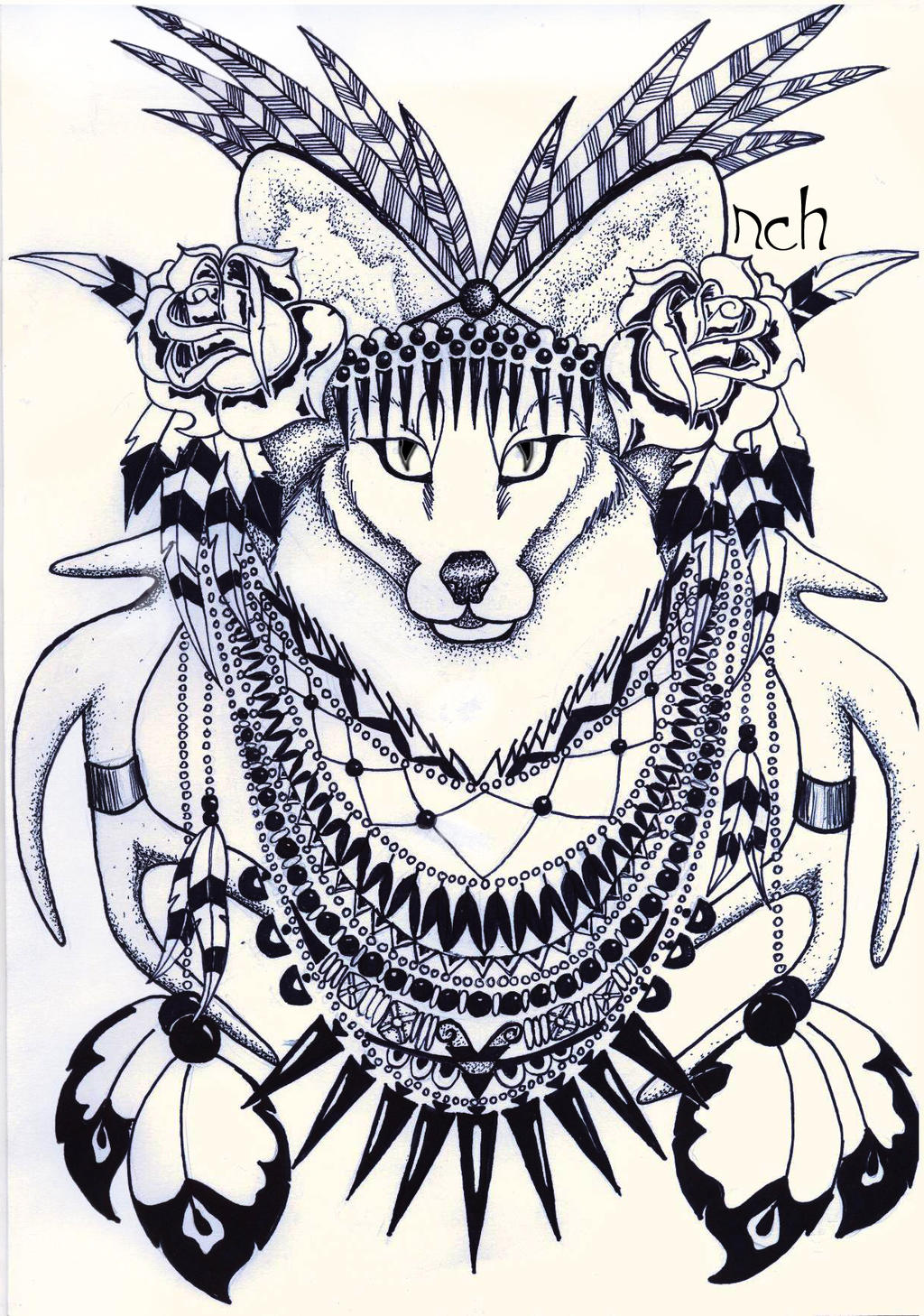 Fox by NatkaCH