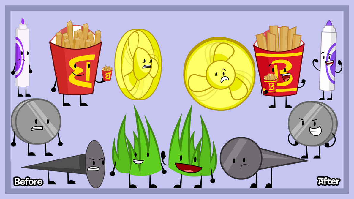 BFDI(a) -Shipping Is Too Confusing! (Remake) by