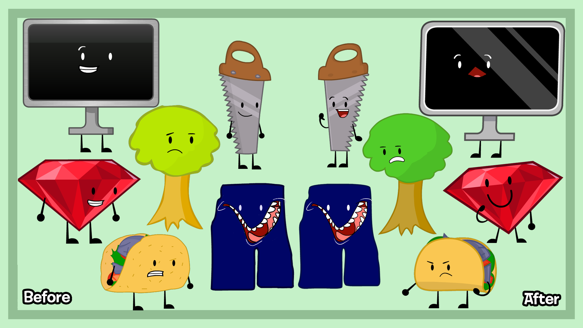 BFSP Remake Redesigns Batch 3 by NiHaoGuylan on DeviantArt