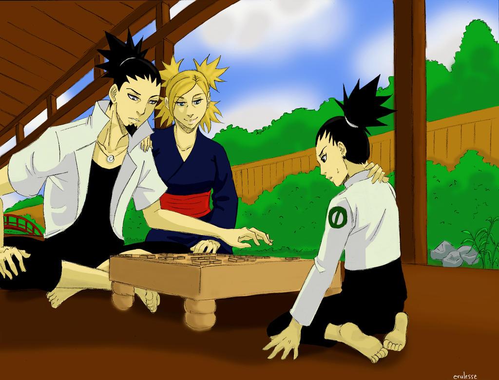 Shikamaru And Temari F...