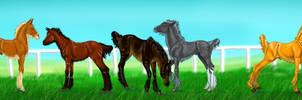 Unitavrus foals