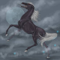 MoonDance of Andriel by EsaArts
