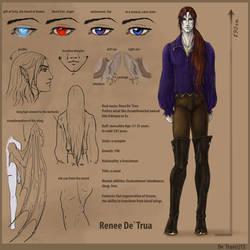 Renee De`Trua card by EsaArts