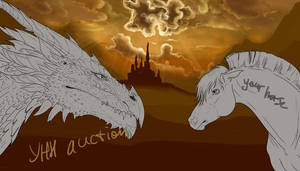 YHH Auction Horse and dragon CLOSED