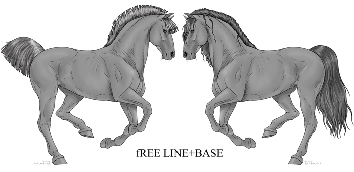 Free Line horse1