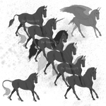 Horse lineartPackage2
