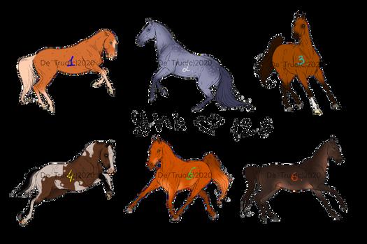 Yhh Horses sketch 2 Open