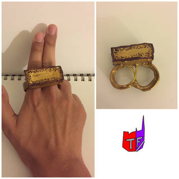 Role play/cosplay gear- sling ring (dr. Strange) by TFmaster96