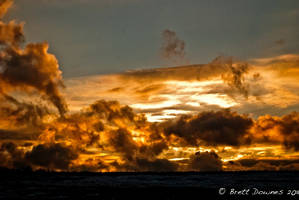 Clouds on Fire by KandBphotography22