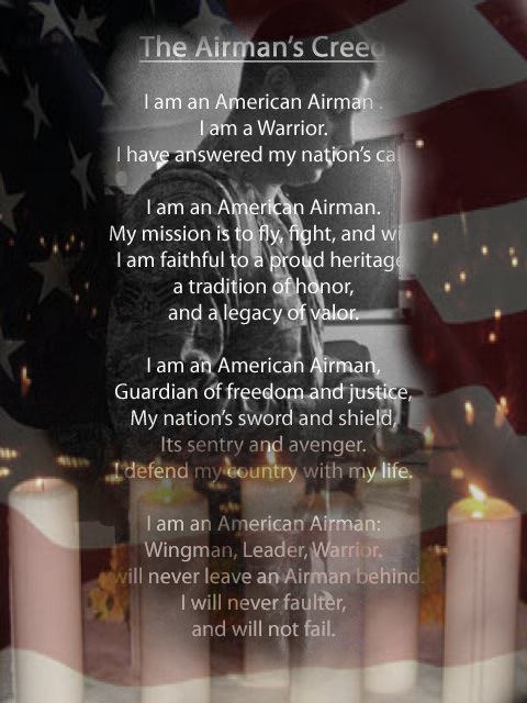 Airmans creed by kandbphotography22 on deviantart airmans creed by kandbphotography22 altavistaventures Images