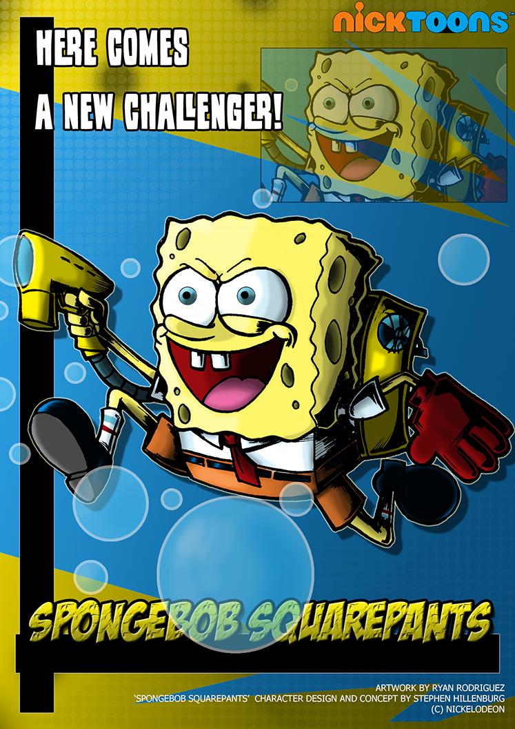 Nicktoons - Spongebob Squarepants by NewEraOutlaw