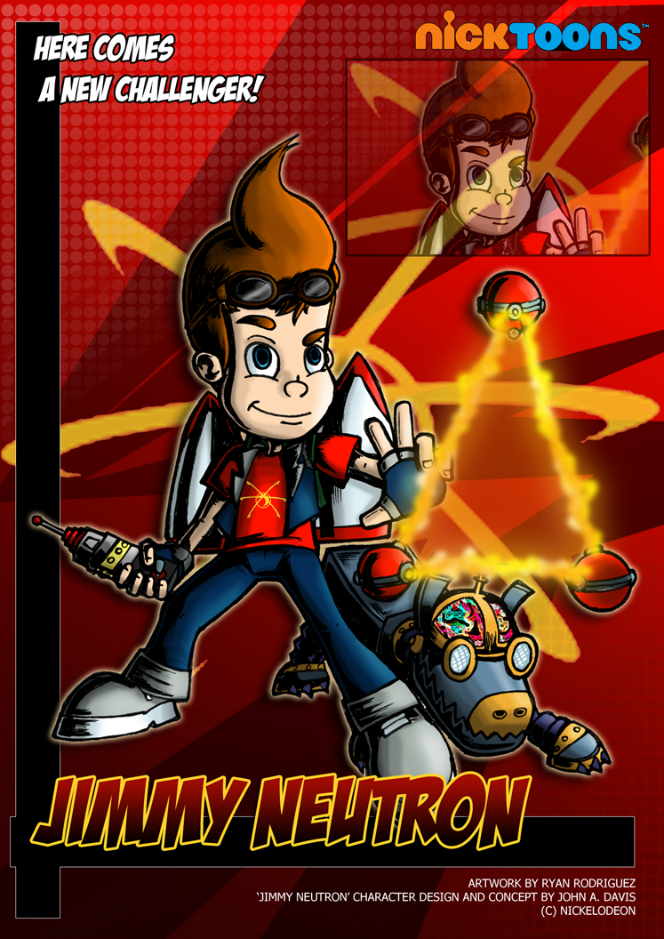 Nicktoons - Jimmy Neutron by NewEraOutlaw