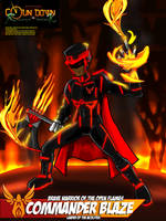 CTR - Commander Blaze (Alternate Costume Concept)