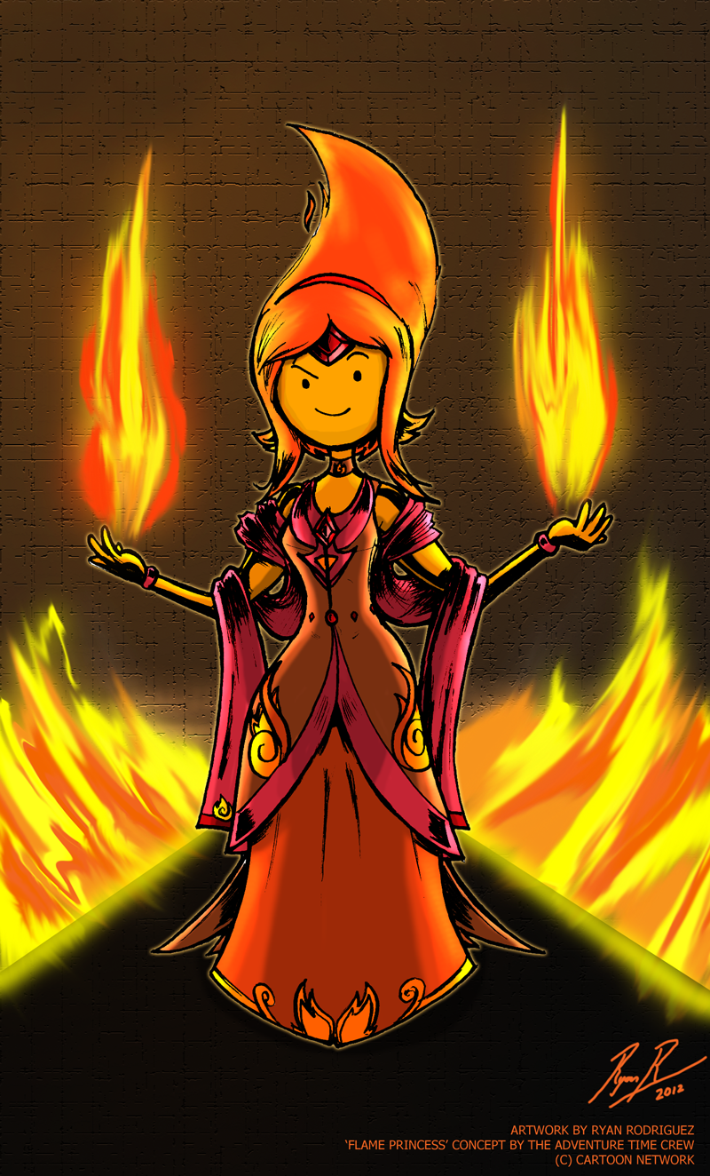 Adventure Time - Flame Princess by NewEraOutlaw on DeviantArt