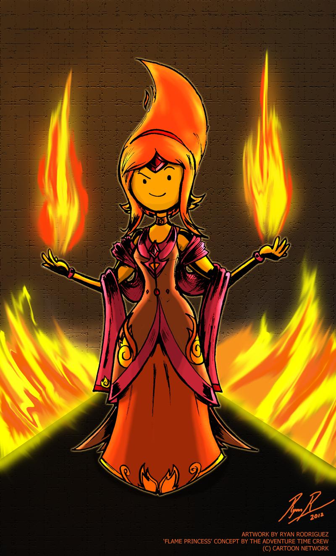 Adventure Time Flame Princess Sexy