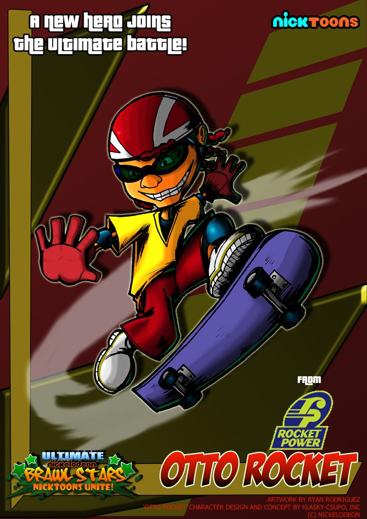 Nicktoons - Otto Rocket by NewEraOutlaw on DeviantArt Quailman Doug