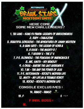 Ultimate Brawl Stars X Spoiler List
