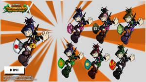 Nicktoons - Kimi (Palette Swaps)